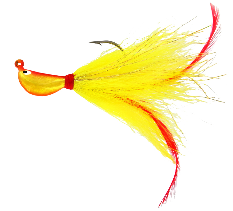 Super Striper Buck Tail Jig - 3/8 oz. - Salsa