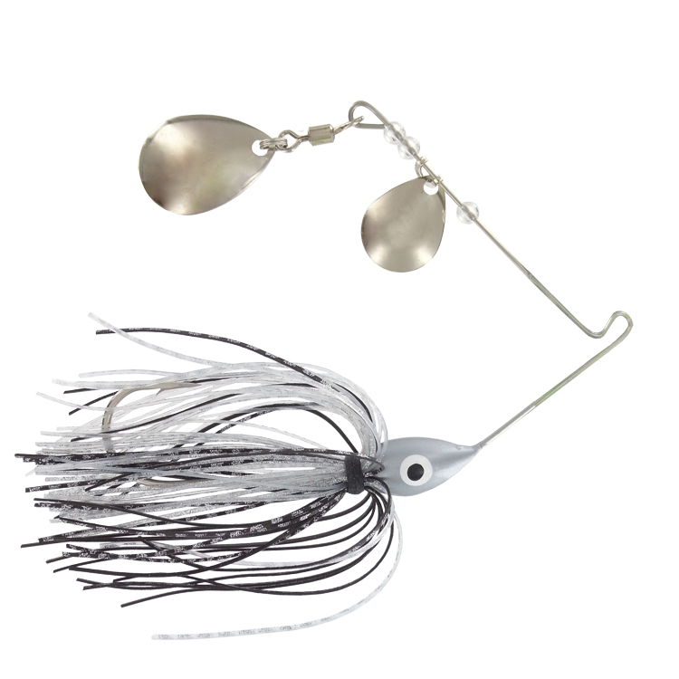 Promo Spinner Bait - 1/4 Oz. - Natural Shad - 6 Pack